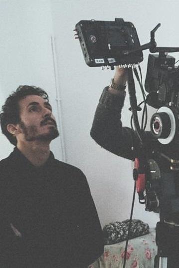 Miguel Ángel Maya rodando